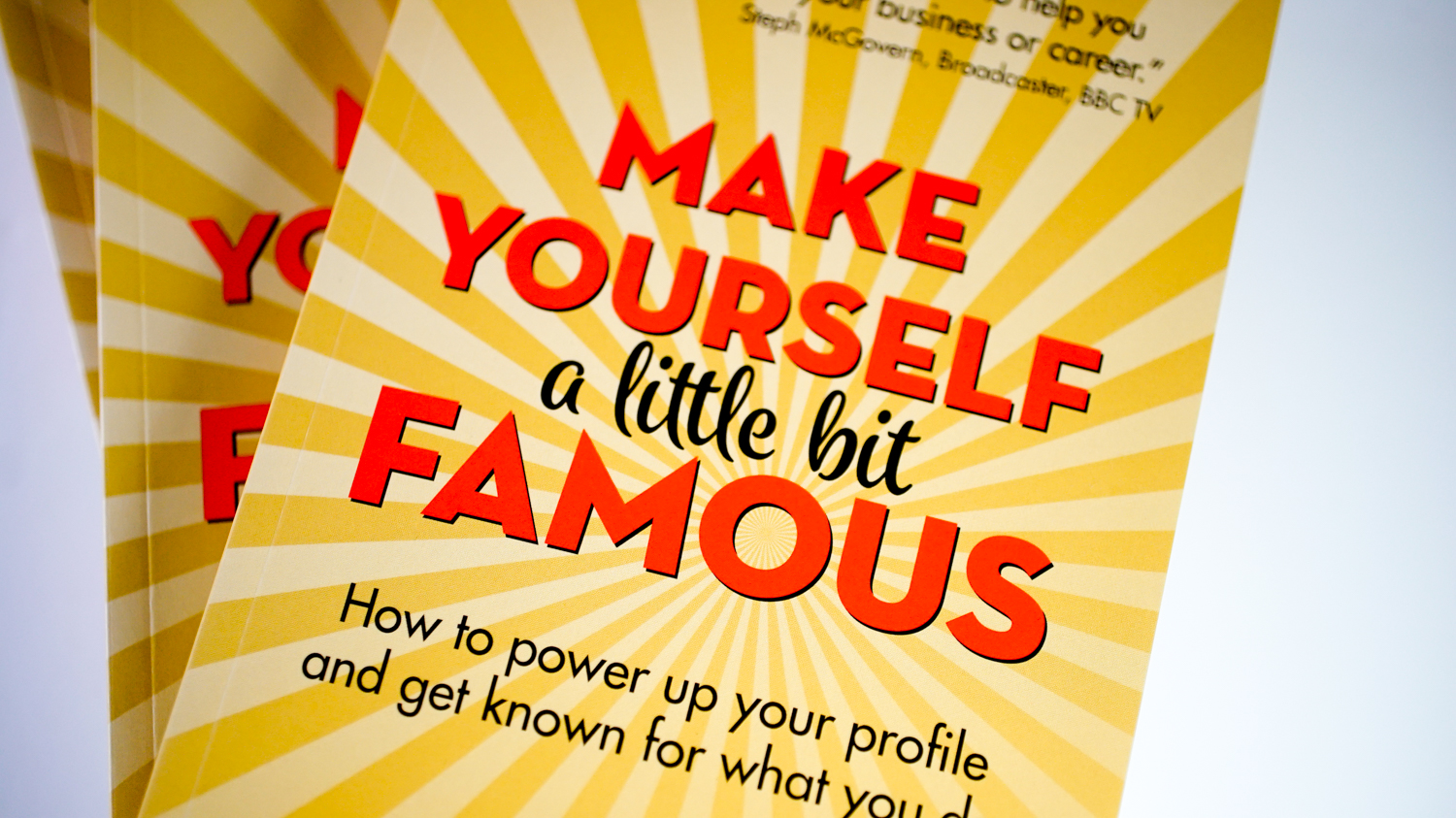 See Inside Make Yourself A Little Bit Famous