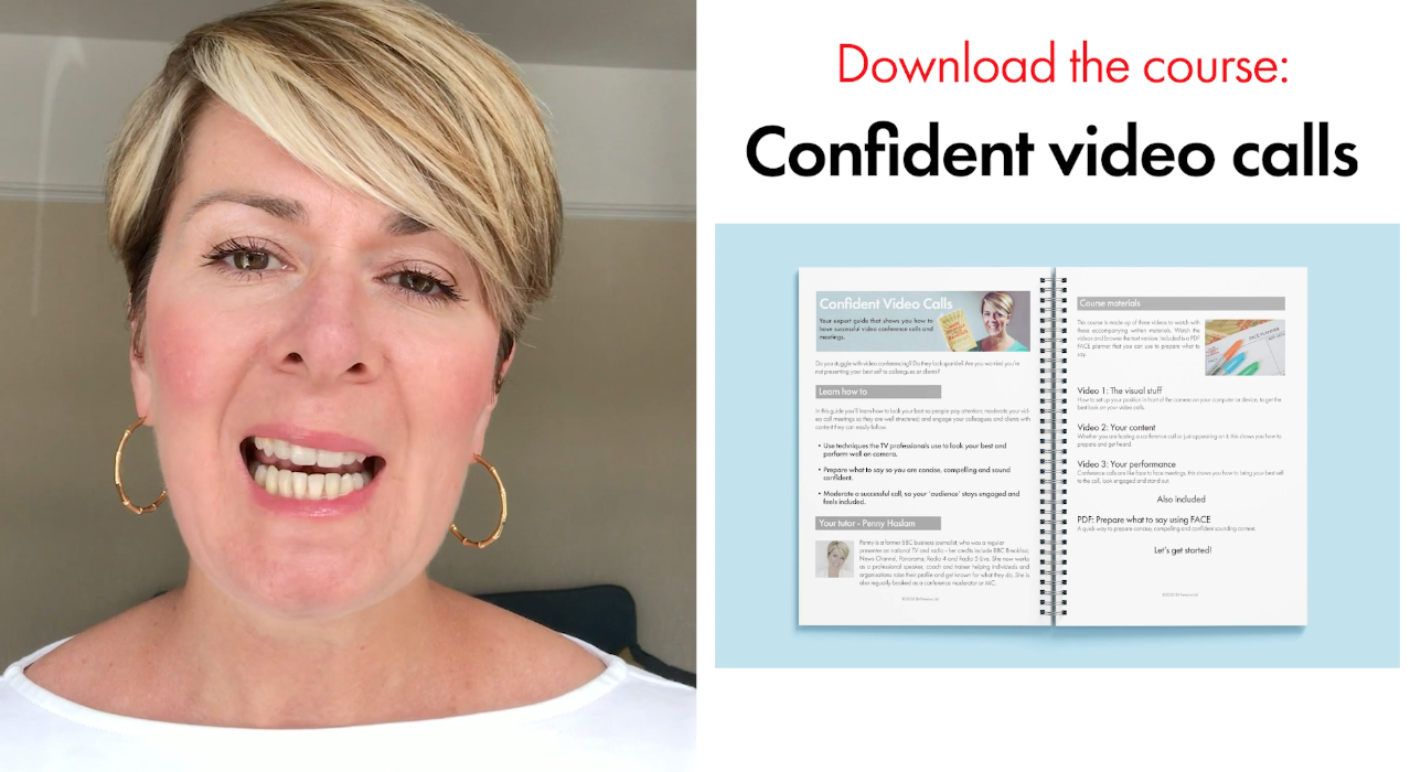 Confident video calls